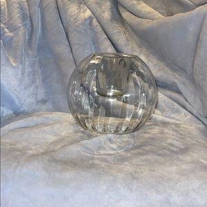 "Home Interiors ""Globe"" tea light or votive holder"